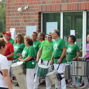 Samba Bateria GWHarburg in Aktion