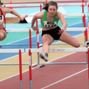 Lena Schröder - Hürdenlauf -Jugend-Hallenmeisterschaften