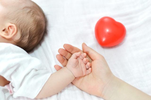 Baby Herz Familie