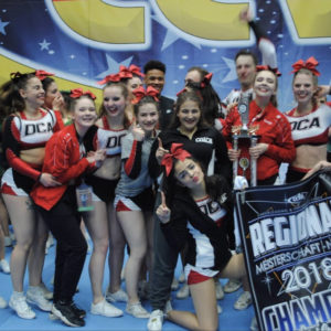 DCA Cheerleader in Orlando