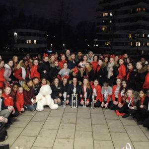 DCA Cheerleader alle Teilnehmer