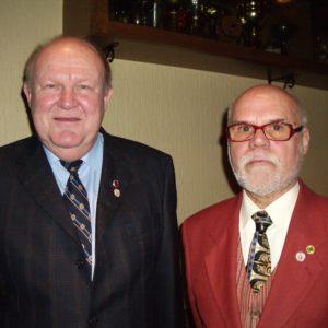 Jürgen Borbet und Gerd Kicheiss