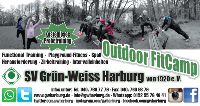 Outdoor Fitcamp Harburg Flyer