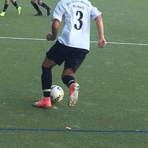 2. B-Jugend gegen HEBC - Spielszene 5