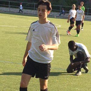 2. B-Jugend gegen HEBC - Spielszene 7