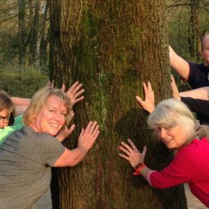 Fit im Park Harburg - Gruppenfoto