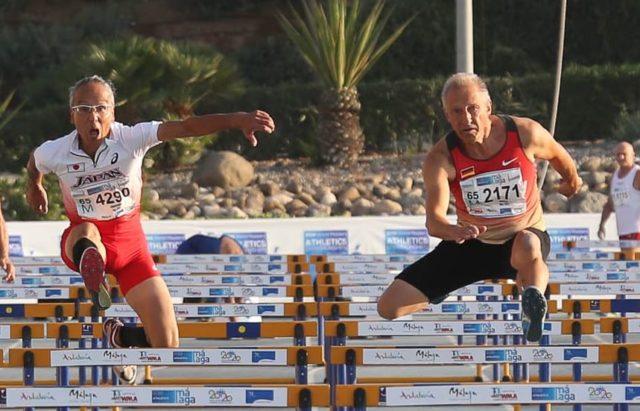 Hürdenlauf Hein Besada Senioren-Landesmeisterschaften 2018