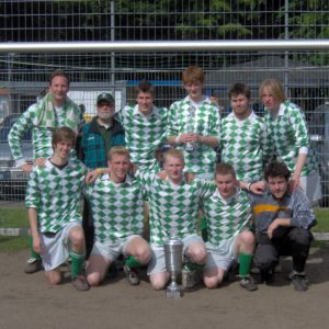 Jürgen Borbet Gruppenbild Schiedsrichter-Cup