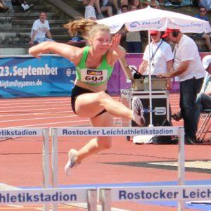 Lena Schröder 100 Meter Hürdenlauf