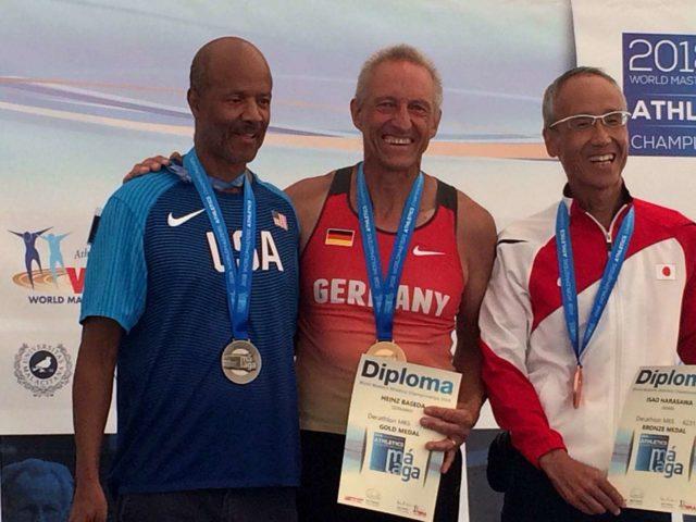 Siegerehrung Hein Besada Senioren-Landesmeisterschaften 2018