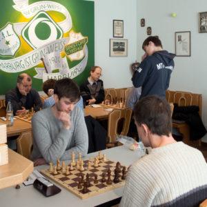 SK Marmstorf in der Schach-Partie