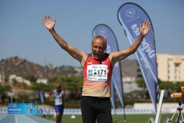 Zieleinlauf Hein Besada Senioren-Landesmeisterschaften 2018