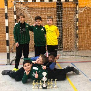 Gwharburg 1 E Jugend Turniersieger