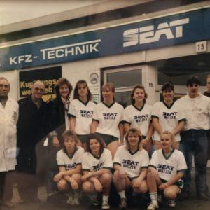 Gwharburg Frauenfußball Sponsor Seat