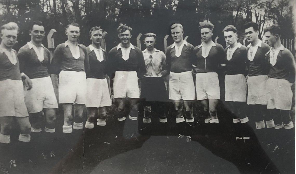 Gwharburg Gruendungsmannschaft 1933