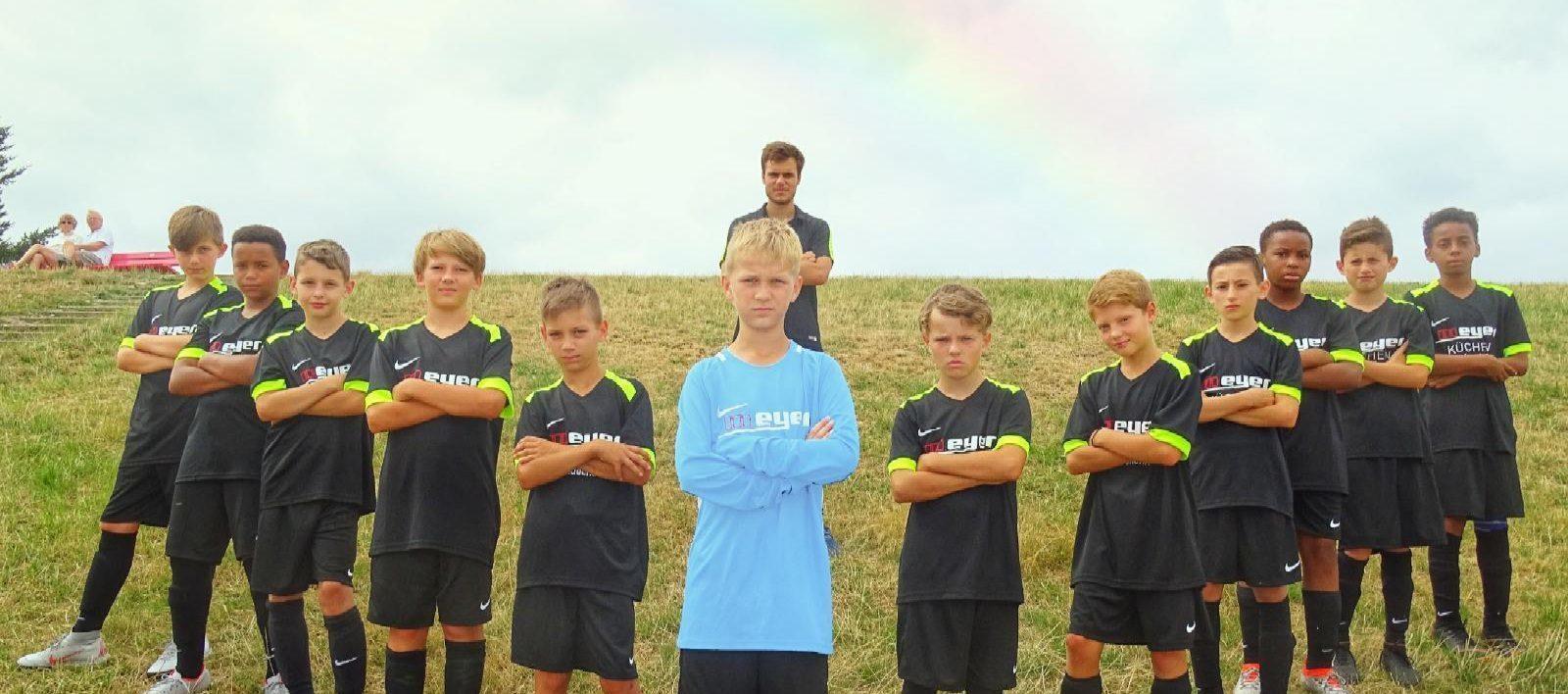 Gwharburg Jahrgang 2007 Mannschaftsfoto