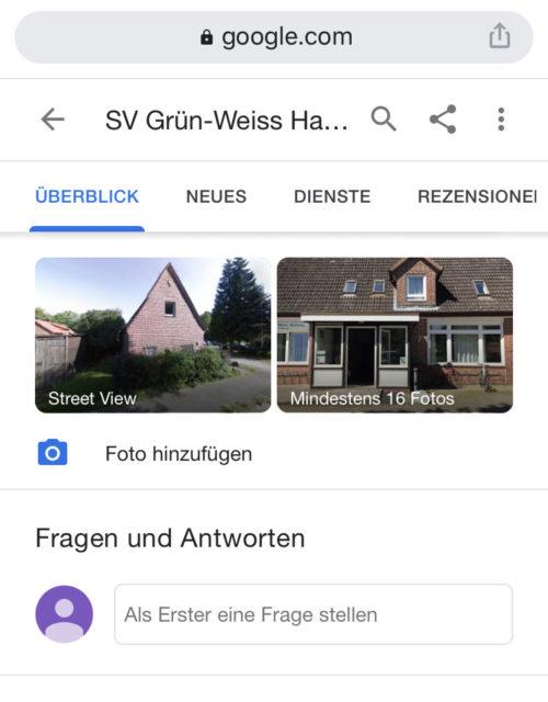 Gwharburg Smartphone Kontakt