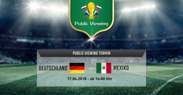 Public Viewing Deutschland Mexiko