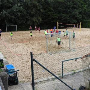 Volleyball Anlage des FSV Rönneburg