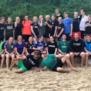 SG harburg Erwachsenengruppe beim Beachday