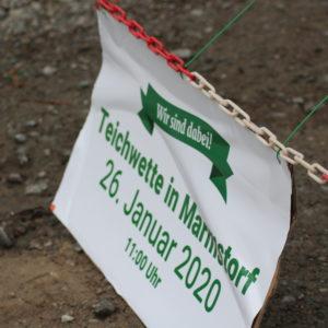 Teichwette 2020 Plakat
