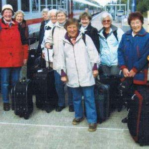 Wandern Ruegen Gruppenfoto Gwh